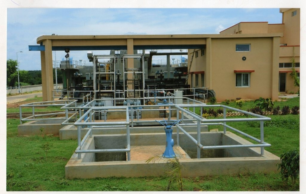 Project Name: STP, HUBLI - INLET WORK & RAW SEWAGE PUMPING STATION