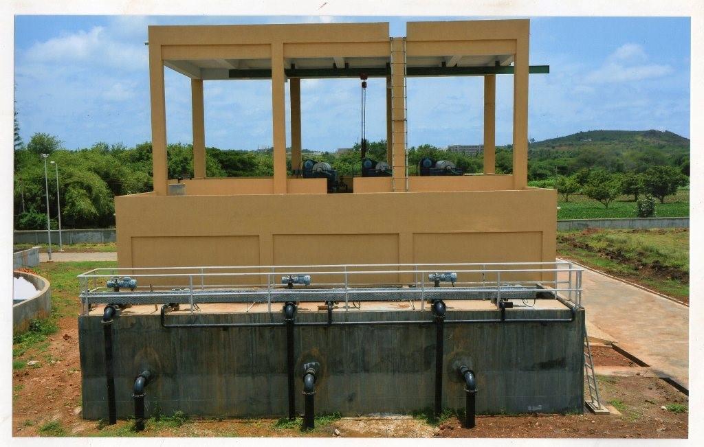 Project Name: STP, HUBLI - CENTRIFUGE BUILDING & SLUDGE SUMP