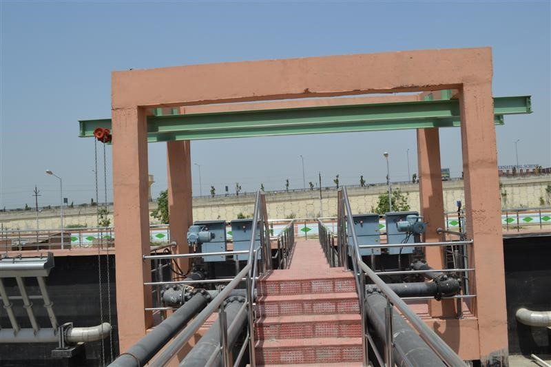 Project Name: SEWER TREATMENT PLANT 37.5 MLD - BASIN WALKWAYS/PLATFORMS